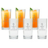 ICON PICKER PERSONALIZED COOLER: SET OF 6 (Glass)(Beach/Nautical)