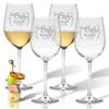 ICON PICKER PERSONALIZED WINE STEMWARE - SET OF 4 (GLASS)(Prime Design)