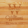 Cutting Board - Personalized (SPLIT LETTER NAME)