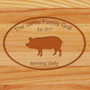 Cutting Board - Personalized (FAMILY GRILL)
