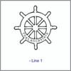 Cutting Board - Personalized (SHIPWHEEL)