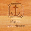Cutting Board - Personalized (ROPE ANCHOR)