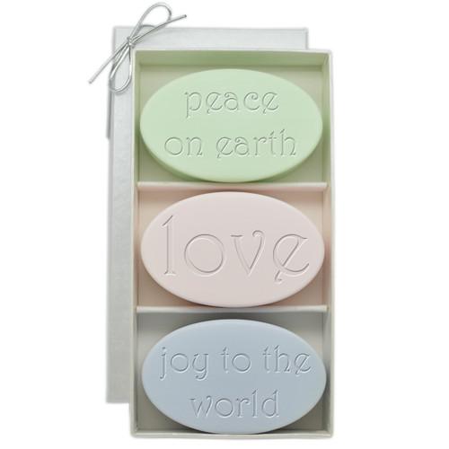 Signature Spa Trio - Peace On Earth, Love, Joy To The World