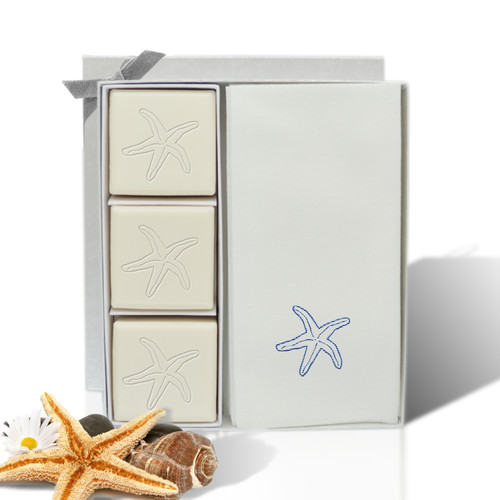 Eco-Luxury Courtesy Gift Set - Blue Starfish