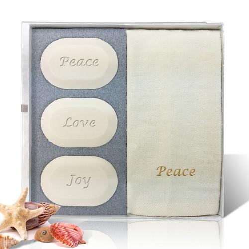 Eco-Luxury Gift Set - Peace, Love & Joy