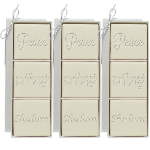 Eco-Luxury Mini-Hostess - Peace Guest Bars (3 Sets)