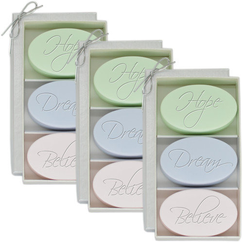 Signature Spa Trio - Hope, Dream, Believe (Set of 3)