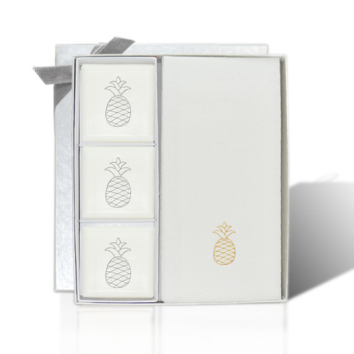 Signature Spa Courtesy Gift Set - Gold Pineapple