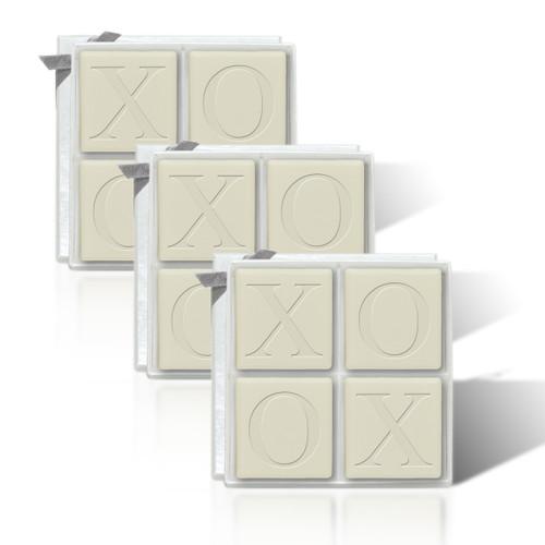 Eco-Luxury Mi-Luxe - Xoxo Motif (Set of 3)