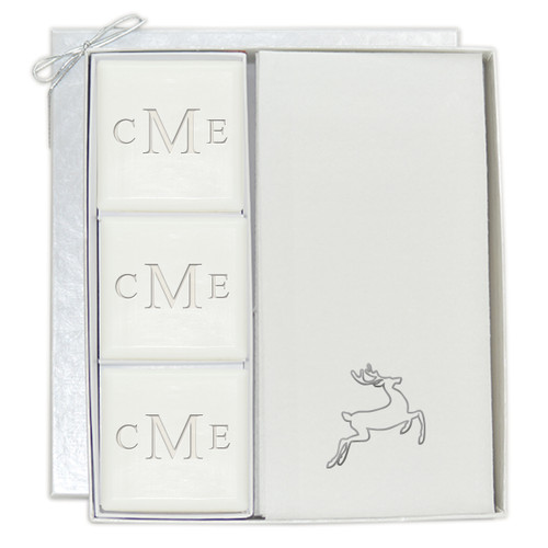 Signature Spa Courtesy Gift Set - Monogram and Silver Deer