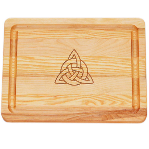 """Small Master Cutting Board 10"""" X 7.5"""" - Celtic Knot"""