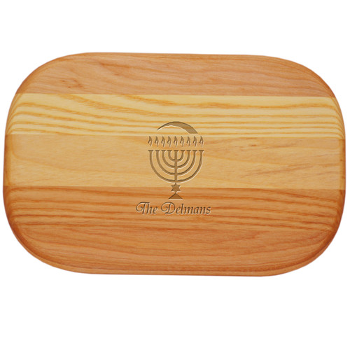 EVERYDAY BOARD: SMALL PERSONALIZED MENORAH