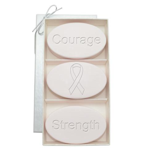 Signature Spa Trio - Satsuma: Breast Cancer Awareness, Courage, Strength