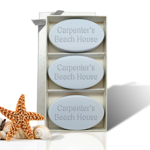 Signature Spa Trio - Wild Blue Lupin Trio: Personalized Beach House