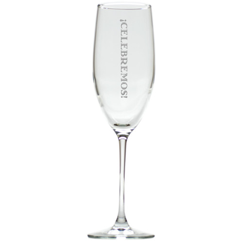 CELEBREMOS CHAMPAGNE FLUTE SET OF 4 (GLASS)
