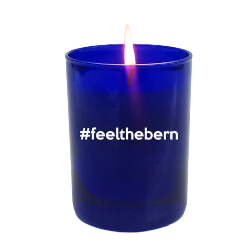 Sapphire Soy Glass Candle - #Feelthebern
