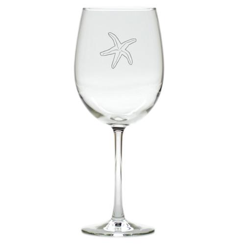 STARFISH WINE STEMWARE - SET OF 4 (GLASS)
