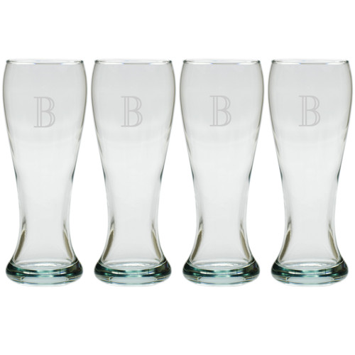 PERSONALIZED PILSNER - SET OF 4 (Glass)