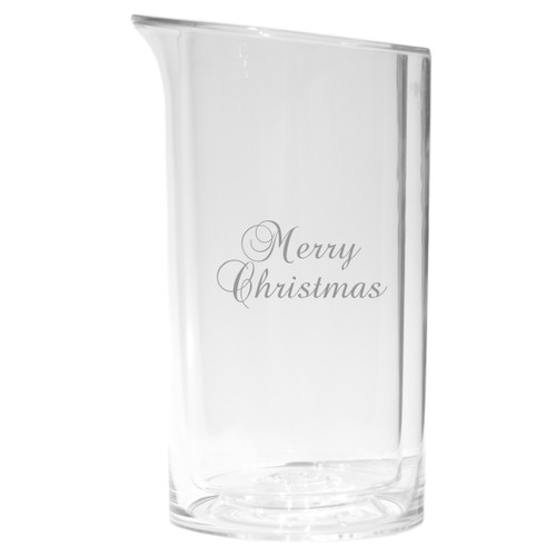 Iceless Wine Bottle Cooler - Merry Christmas