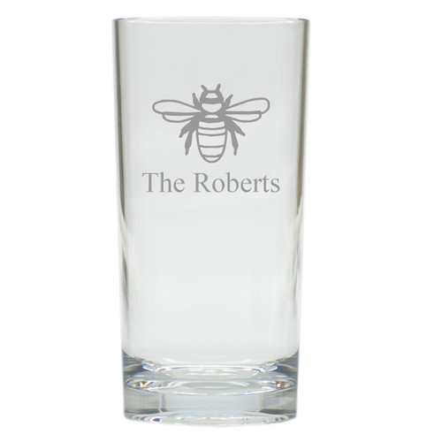 PERSONALIZED BEE COOLER: SET OF 6 (Glass)