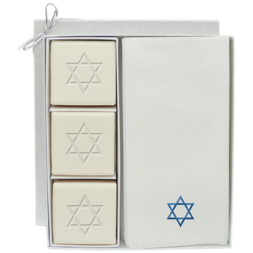 Eco-Luxury Courtesy Gift Set - Blue Star of David