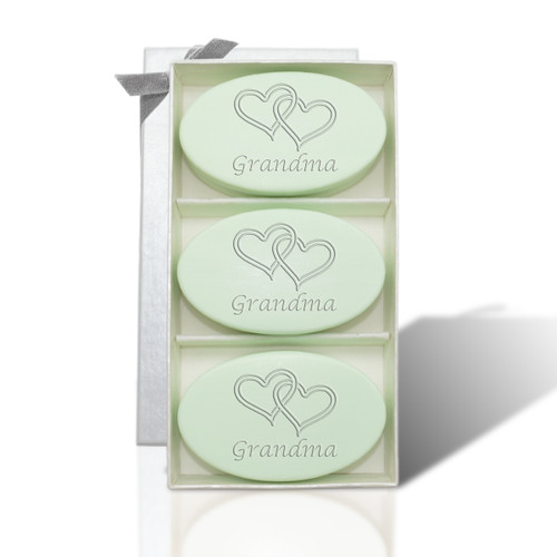 Signature Spa Trio - Green Tea & Bergamot: Double Hearts for Grandma on Mother's Day