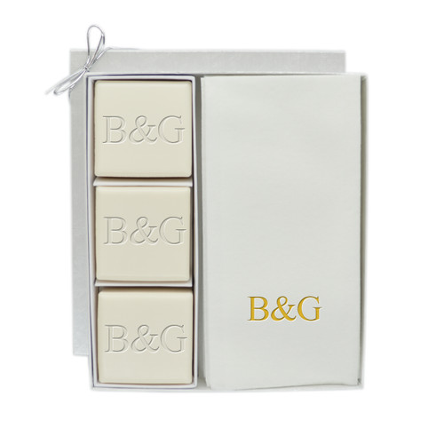 Eco-Luxury Courtesy Gift Set - Gold Initial & Initial