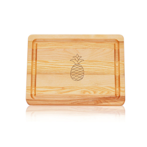"Small Master Cutting Board 10"" X 7.5"" - Pineapple"