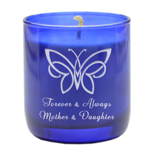 BLUE COLLECTION CANDLE: FOREVER AND ALWAYS MOTHER AND DAUGHTER
