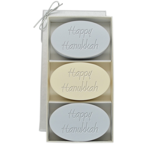 Signature Spa Trio - Wild Blue Lupin and Verbena: Happy Hanukkah