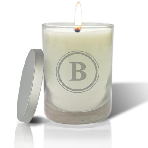 Soy Glass Candle - Initial