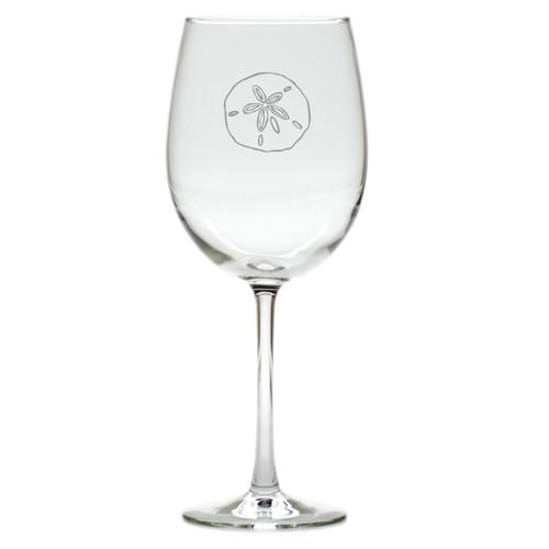 SAND DOLLAR WINE STEMWARE - SET OF 4 (GLASS)
