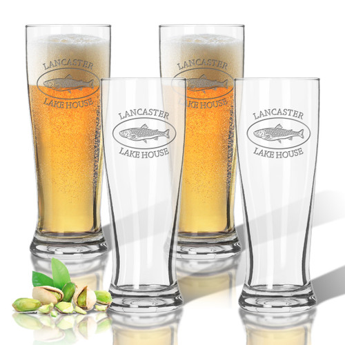 Tritan Pilsner 14 oz (Set of 4) : Lakehouse and Trout