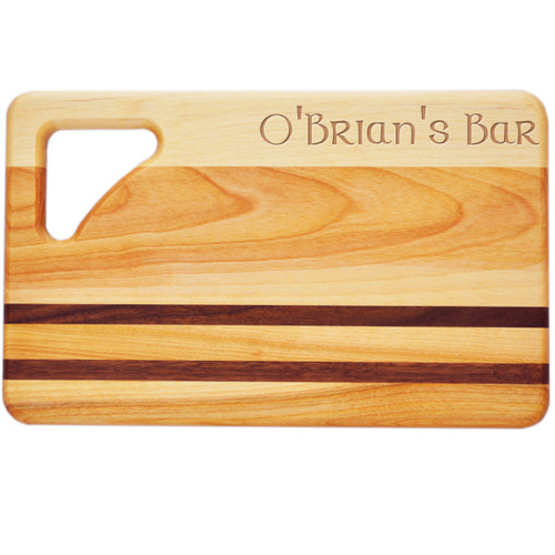 "Small Integrity Cutting Board 10"" X 6"" - Celtic Name"
