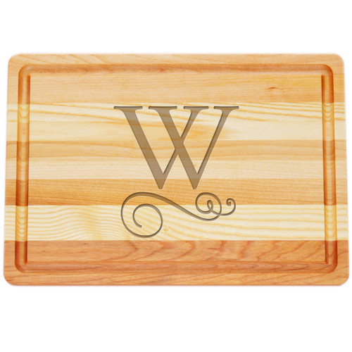 "Medium Master Cutting Boards 14.5"" X 10"" - Large Personalization"