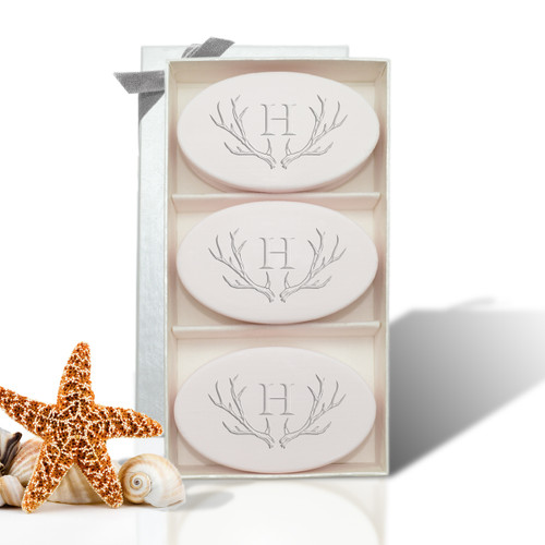 Signature Spa Trio - Satsuma: Antler with Single Initial