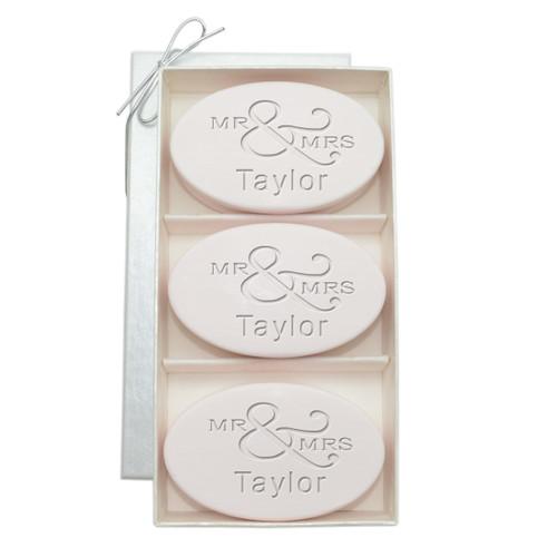 Signature Spa Trio - Satsuma: Personalized Mr & Mrs