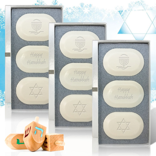 Eco-Luxury Trio - Hanukkah Mix (Set of 3)
