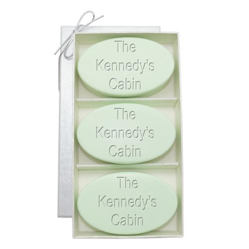 Signature Spa Trio - Green Tea & Bergamot: Personalized Cabin