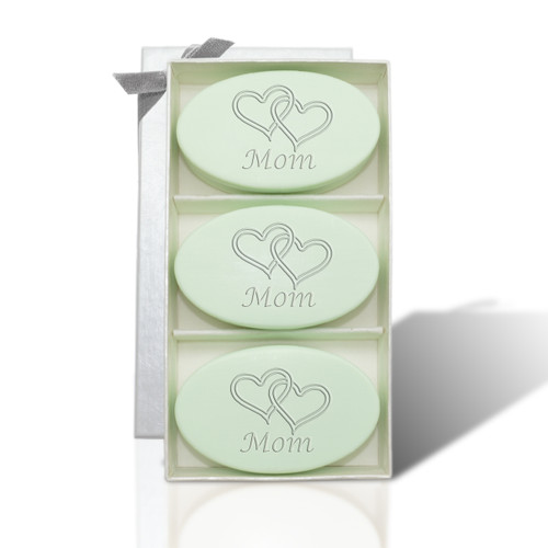 Signature Spa Trio - Green Tea & Bergamot: Double Hearts for Mom