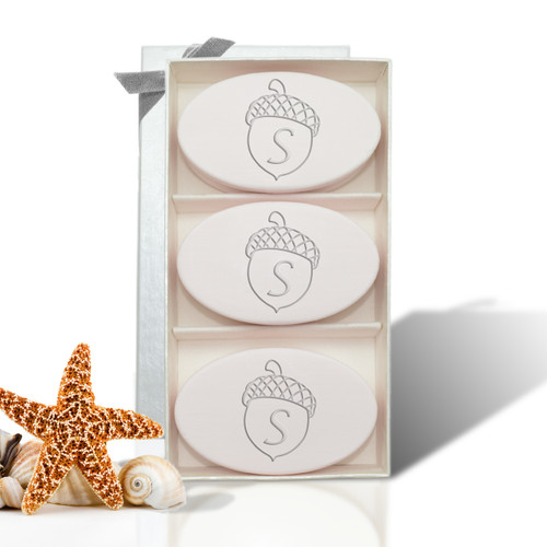 Signature Spa Trio - Satsuma: Personalized Acorn