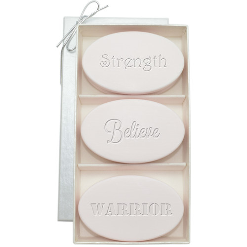 Signature Spa Trio - Satsuma - Breast Cancer Awareness Warrior