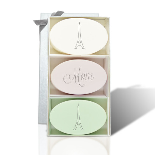 Signature Spa Trio - Verbena, Satsuma & Green Tea: Mom Eiffel Tower