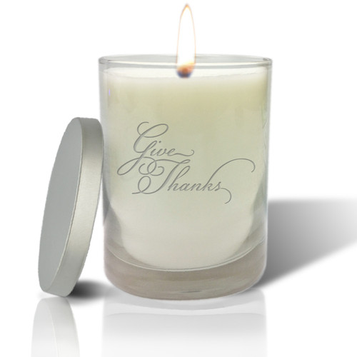 Soy Glass Candle - Give Thanks