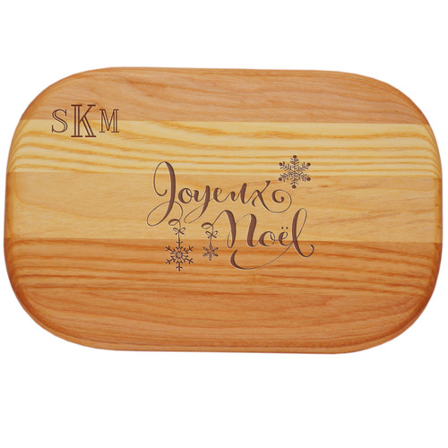 EVERYDAY BOARD: SMALL PERSONAL MONOGRAM JOYEUX NOEL