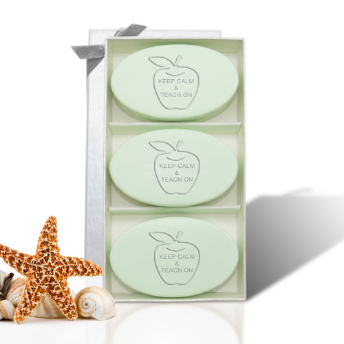 Signature Spa Trio - Green Tea & Bergamot: Keep Calm and Teach On