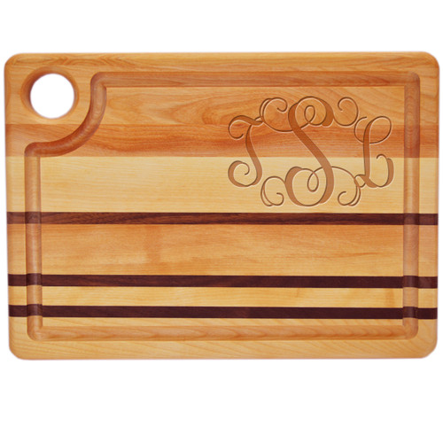 "Integrity Steak Carving Board 14"" X 10"" - Large Personalization"