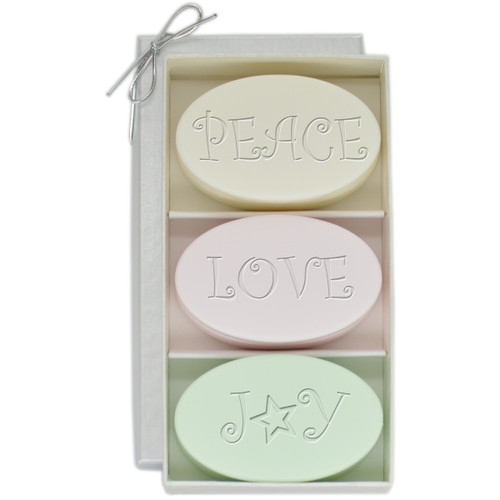 Signature Spa Trio - Green Tea, Satsuma & Blue Lupin: Peace, Love, Joy
