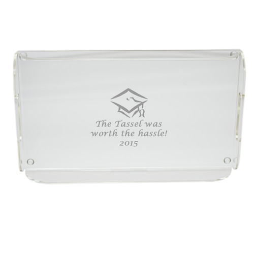 Personalized Acrylic Serving Tray - Tassel Worth the Hassle