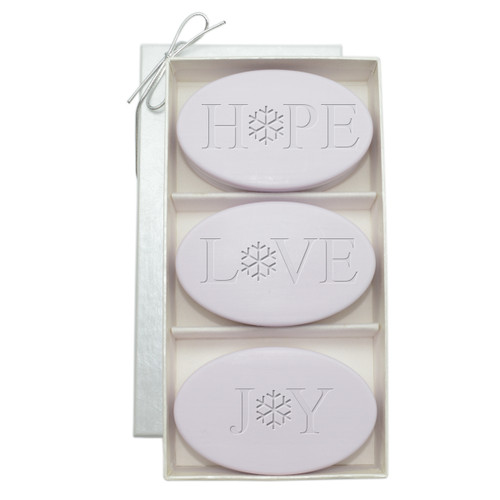 Signature Spa Trio - Lavender: Hope, Love, Joy, Snowflake